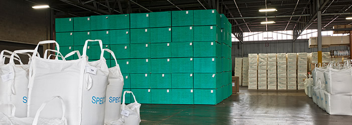 Warehoused materials